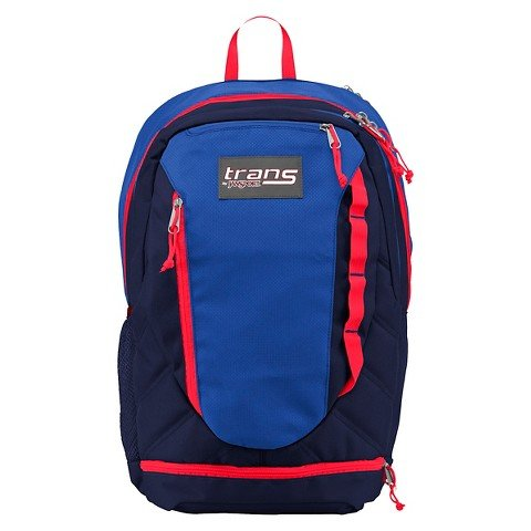 Trans By Jansport Capacitor Backpack (Navy/Red)