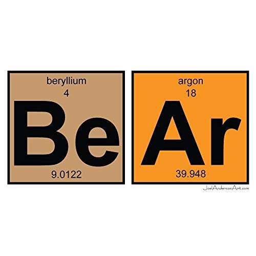 BeAr art tile print of periodic table elements ()