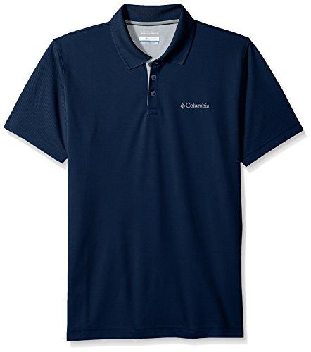 Columbia Men's Utilizer Polo Shirt, collegiate navy, Large ()