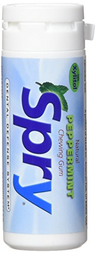 (Spry Xylitol Gum, Natural Peppermint, 30ct)