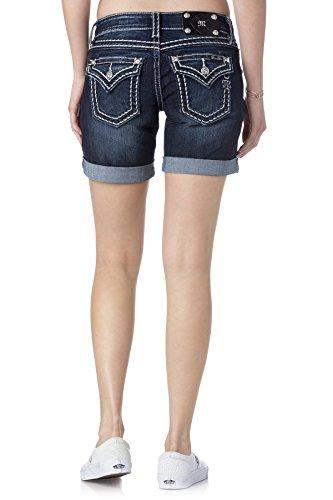 - Miss Me Big Stitch Bermuda Shorts 30