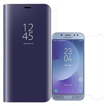 Funda para Samsung Galaxy J5 2017 de Espejo Flip Case y ...