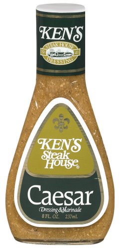 Ken's Steak House Chef's Reserve Tableside Caesar Dressing, 9 Ounce