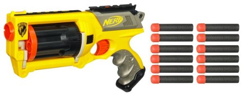 Nerf N-Strike Maverick Dart Blaster - Refill and Reload