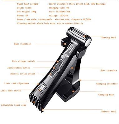 2019 afeitadora 3-en-1 cortapelos depilatorio Máquina Cortapelo ...