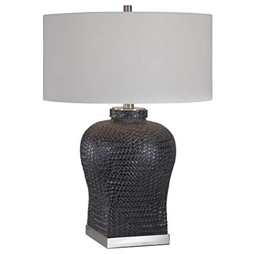 - Vhomes Lights Akello Weave Texture Table Lamp