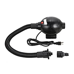 800W Air Compressor Portable Electric Air Bed Pump for Bubble Soccer Ball Air Mattress Inflatable Air Bed Yacht Boat