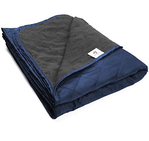 Bessport Camping deken Warm & Lichtgewicht – 800 g, gewatteerd met extra dikke fleece deken, geweldig voor kamperen…