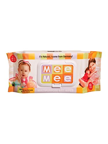 Mee Mee Mutlipurpose Baby Wet Wipes (80pcs)