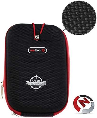 Navitech Black Eva Hard Case/Cover CompatibleThe Nikon Coolshot 20 Golf GPS RangefinderCaribina
