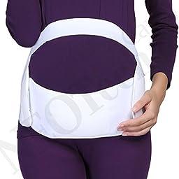 Maternity Pregnancy Support Belt / Brace - Back, Abdomen, Belly Band - NEOtech Care ( TM ) brand - Black Color - Size L