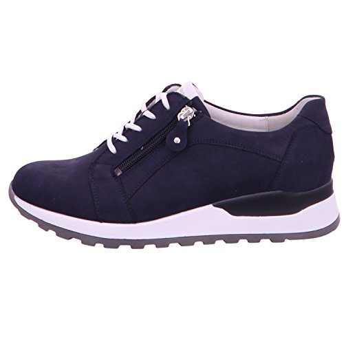 Waldläufer femme à 200 pour Bleu Bleu de 364023162 lacets ville bleu Chaussures rqx8SXrgwF