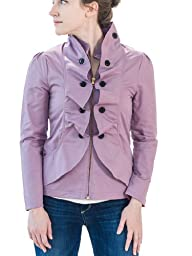 SevenBlooms Ruffled Petite Blazer in Orchid 2P
