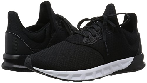 Adidas Men s Falcon Elite 5 M Black and Dark Grey Mesh Running Shoes - 6  UK  Buy Online at Low Prices in India - Amazon.in fa6f8ac5f