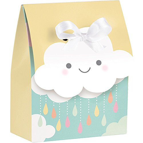 BirthdayExpress Creative Party Sunshine Baby Showers Favour Bags with Ribbons ()