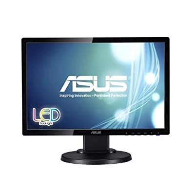 """ASUS VE198TL 19"""" WXGA+ 1440x900 DVI VGA Ergonomic Back-lit LED Monitor"""