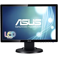 ASUS VE198TL 19 WXGA+ 1440x900 DVI VGA Ergonomic Back-lit LED Monitor