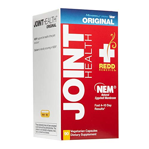 Redd Remedies - Joint Health Original, Helps Strengthen Connective Tissue and Cartilage, 90 Count (The Best Joint Health Supplements)
