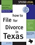 How to File for Divorce in Texas, Karen Ann Rolcik and Edward A. Haman, 1572483997