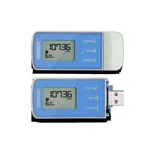 Omron Hj-323U Tri-Axis Pedometer with USB Plug