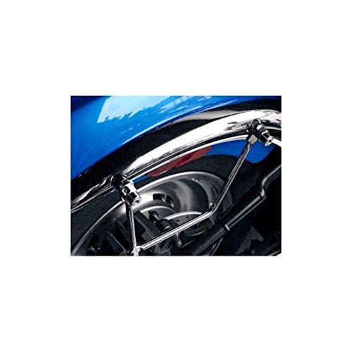 Ace Chrome Saddlebag - Saddlemen 3501-0345 S4 Universal Saddlebag Support Bracket