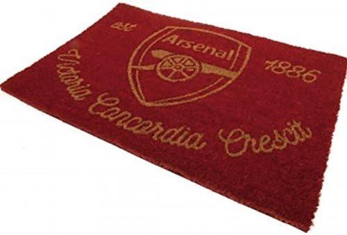 40 x 60 cm Arsenal FC Crest Doormat Multi-Colour
