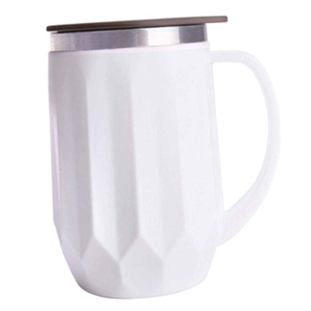 3f47535bbf9 SM SunniMix 400ML Vacuum Insulation Stainless Steel Coffee Mug Beer Milk Tea  Cup Drinkware for Home,Office,Travel,Outdoor - White: Amazon.ca: Home &  Kitchen