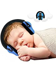 Baby Ear Protection - Noise Canceling Muffs for Babies Infant Tots Toddler Child - Kids Hearing Protection Earmuffs - Sound Proof Noise Canceling Headphones - Ages Newborn to 3 Years - Blue