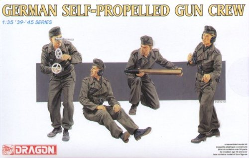 - Dragon Models USA 6367 1/35 German Self Propelled Gun Crew (4)