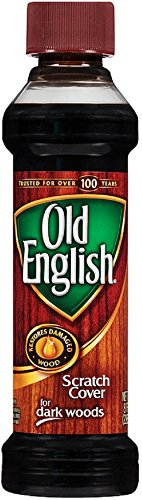 Old English Scratch Cover For Dark Woods, Wood Polish, 8 fl oz Bottle