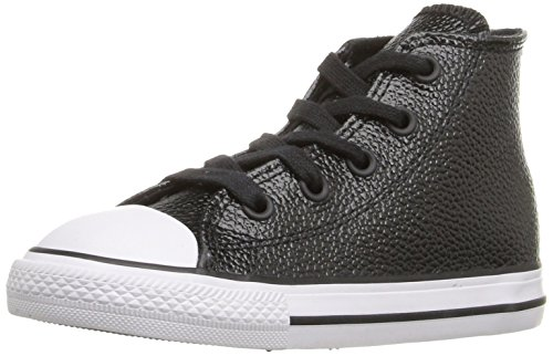 Converse Chuck Taylor All Star Toddler High Top, Scarpe per bambini Black/White/Black