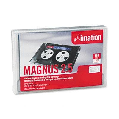Imation MAGNUS 2.5 DC9250 SLR4 2.5GB/5.0GB Data Tape Cartridge 46168 by Imation