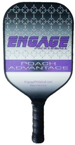 Engage Poach Advantage (Next generation) Pickleball paddle (Purple (7.5 -7.8 oz)) by Engage Pickleball