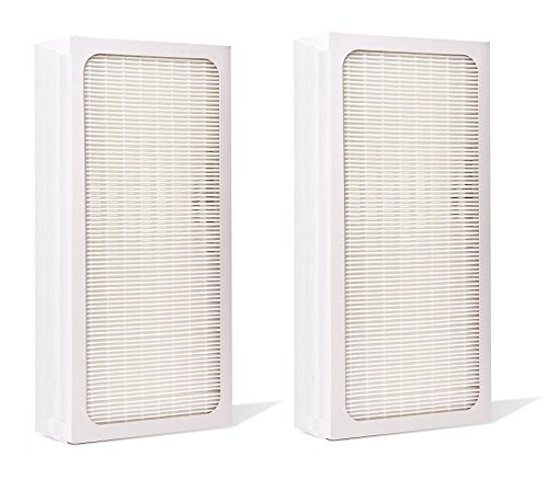 2 Pack, Particle Filter for Blueair 400 Series Air Purifiers by LSE Lighting