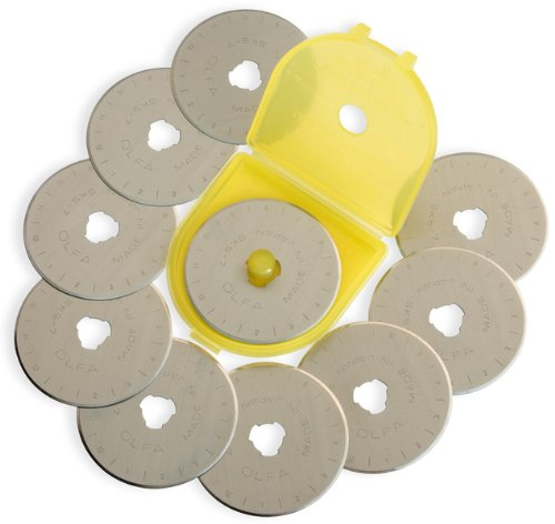 Rotary Blade Refill-45mm 10/Pkg 1 pcs sku# 643882MA by OLFA