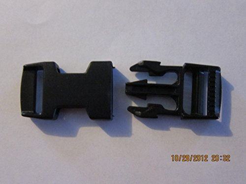 Special Release Buckle Assembly 3/4 inch for survival bracelets, belts Etc. Lot of 12