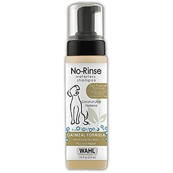 Wahl Pet Friendly No-Rinse Waterless Shampoo, Coconut Lime Verbena #820015