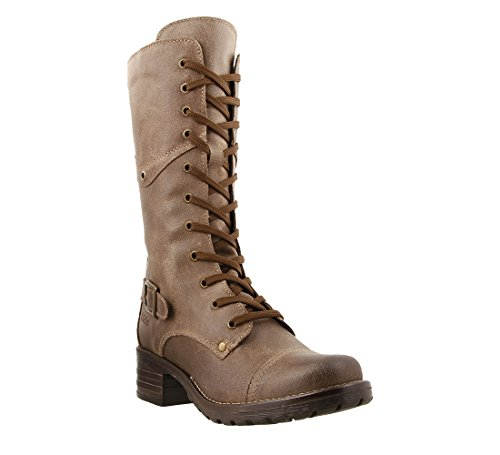 Taos Women's Tall Crave Taupe Boot 40 M EU/9-9.5 B(M) US