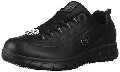 e5b4151e2 Amazon.com  Skechers Work Women s Sure Track - Trickel  Shoes