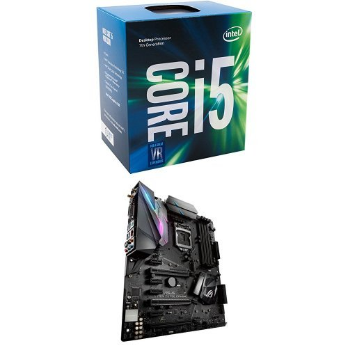 Intel BX80677I57500 7th Gen Core Desktop Processors & ASUS LGA1151 DDR4 DP HDMI DVI M.2 ATX Motherboard with onboard AC Wi-Fi and USB 3.1 ROG STRIX Z270E Bundle
