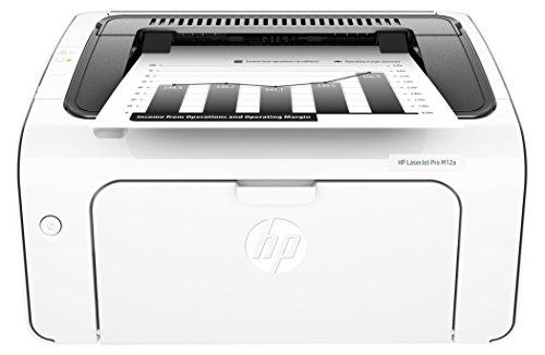 HP LaserJet Pro M12a Schwarzweiß-Laserdrucker (Drucker, USB, 600 x 600 dpi) weiß