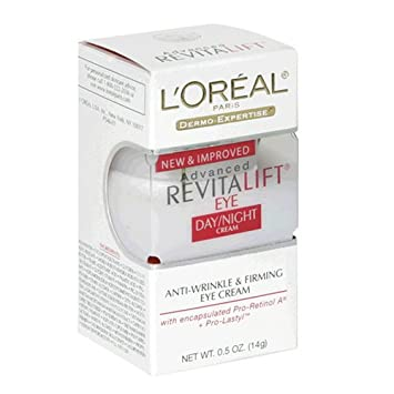 Amazon.com: Lor Revitalift Eye Cream Size .5z Loreal Revitalift ...