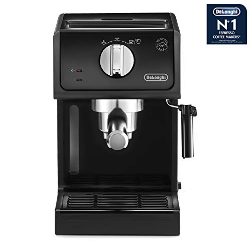 De'Longhi ECP31.21 Italian Traditional Espresso Coffee Maker, Black (De Longhi Traditional Pump Espresso Coffee Machine)
