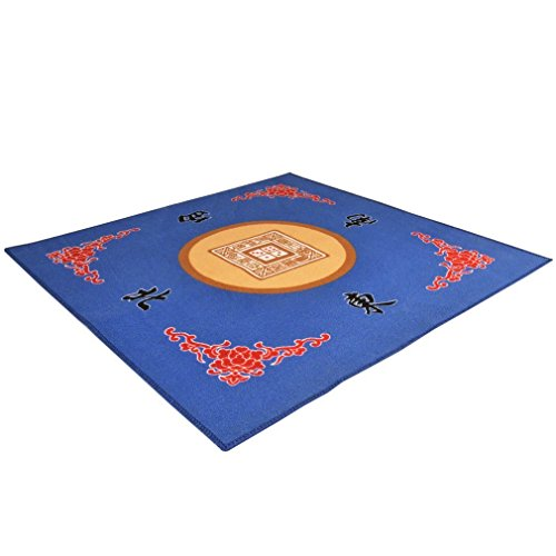 Blue Mahjong (Universal Mahjong / Paigow / Card / Game Table Cover - Blue Mat 31.5
