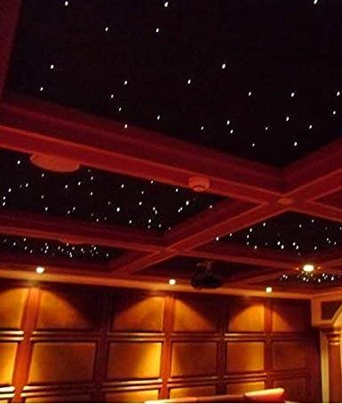 Kit de luces de techo de 32 W RGB LED Twinlkle de fibra ...