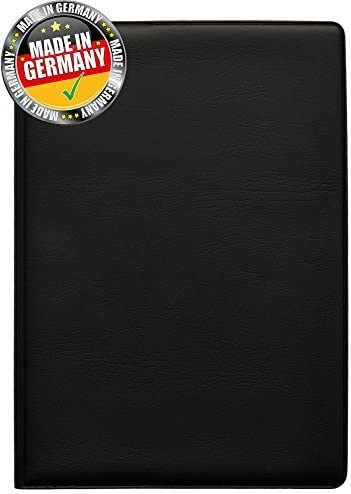 OPTEXX RFID Blocking Passport Cover Black TÜV Tested and Certified PP Holder/Case/Wallet …