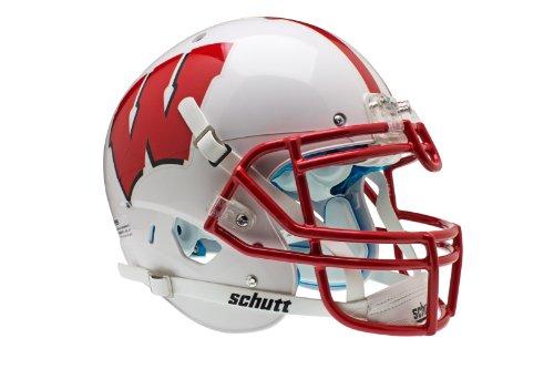 NCAA Wisconsin Badgers Authentic XP Football Helmet by Schutt