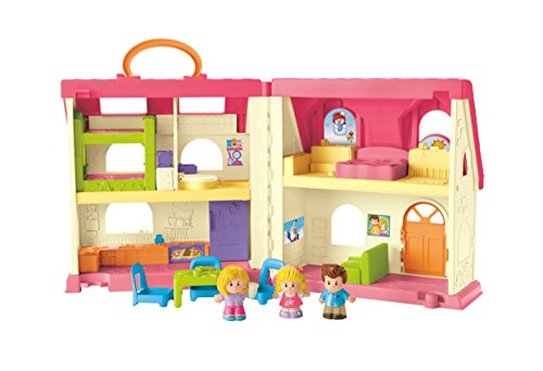 411CbSFYjlL - Fisher-Price Little People Surprise & Sounds Home Playset
