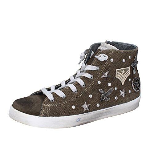 Camoscio CLUB BEVERLY Tessuto Verde EU Sneakers Uomo Fashion 40 POLO HILLS rwEq0rY