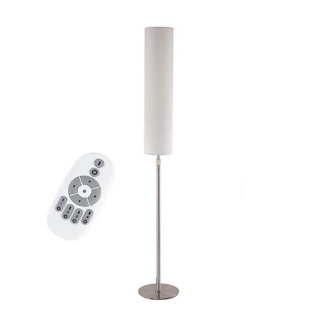 調光フロアランプLEDアイ保護テーブルランプリビングルームのためのリモートコントロールとフットスイッチ付き寝室研究読書ライト (色 : ベージュ, サイズさいず : リモコンスイッチ) B07L6HRT5L ベージュ リモコンスイッチ